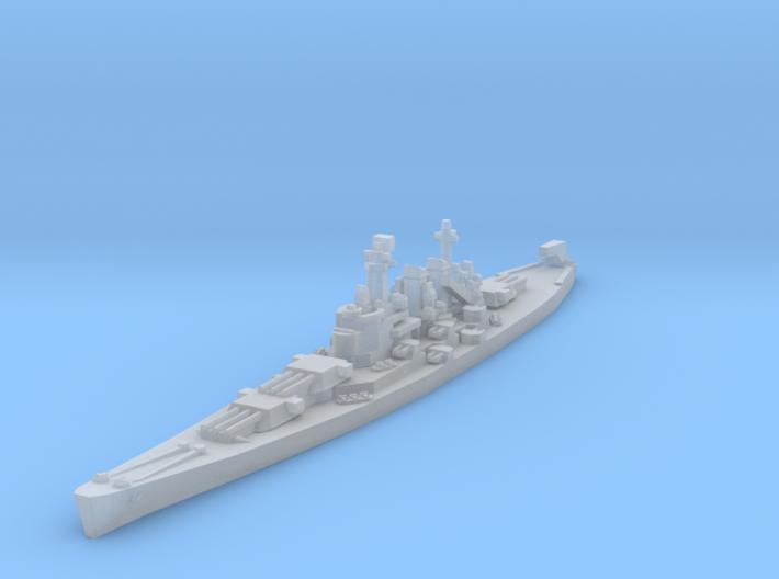 North Carolina class battleship 1/4800 3d printed