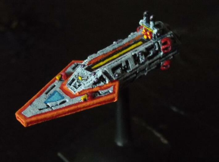 VA202 Dagger Blade Strike Cruiser 3d printed Painted model