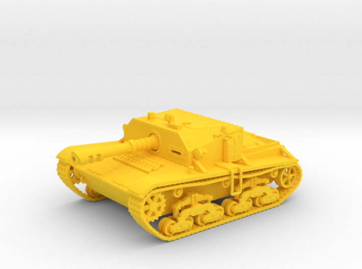 28mm Laser-Semovente SPG (Wk.6 tank based) 3d printed