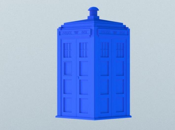 Dr Who's TARDIS (5 cm) 3d printed Rendered version
