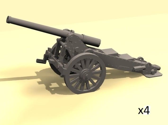 1/220 de Bange 1877 model cannon 155mm x4 3d printed
