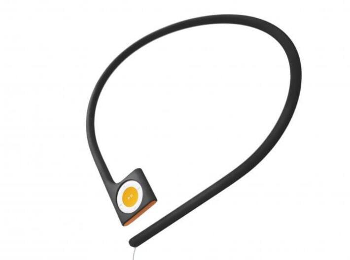 Pod à porter - neckband for iPod shuffle 3d printed Pod à porter - neckband for iPod shuffle 4th generation