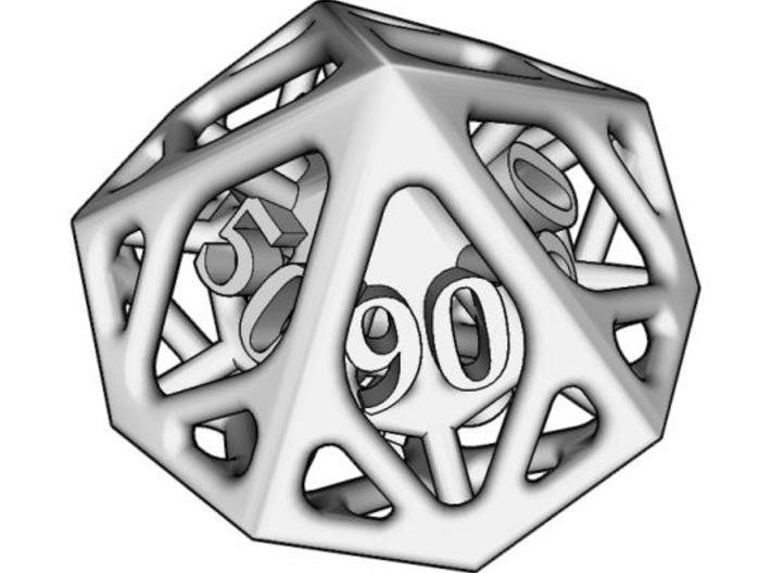 Cage Decader d10 3d printed