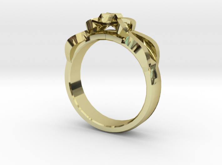 Designer Ring #1 3d printed