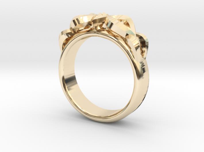 Designer Ring #3 3d printed