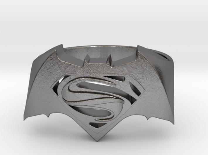 SuperMan Vs Batman Size 11 3d printed