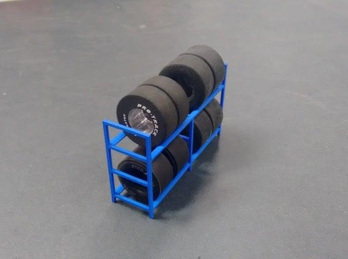 Tire Storage Rack V3 1/24 - 1/25 3d printed