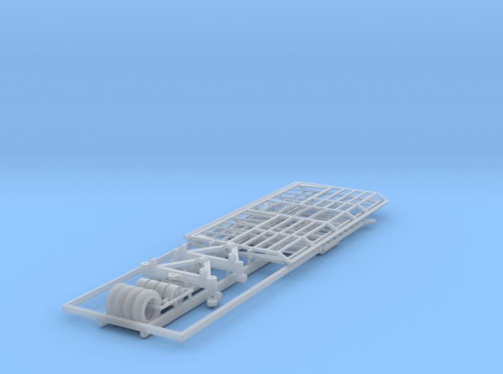 1/64 Hay Wagon Version 2 3d printed