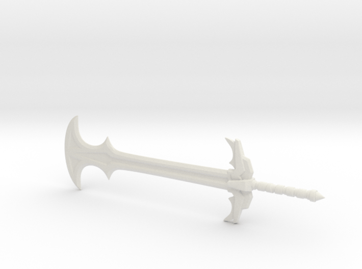 Slayer sword for Mythic Legions 3d printed