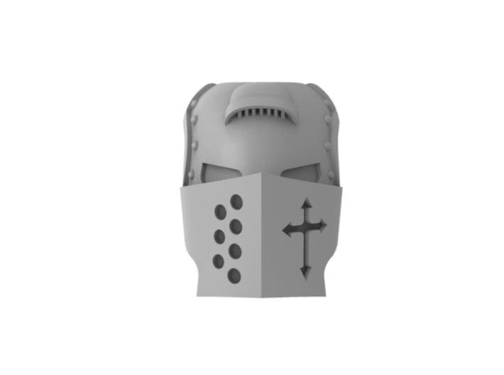 Templar Knight - Mask 3d printed