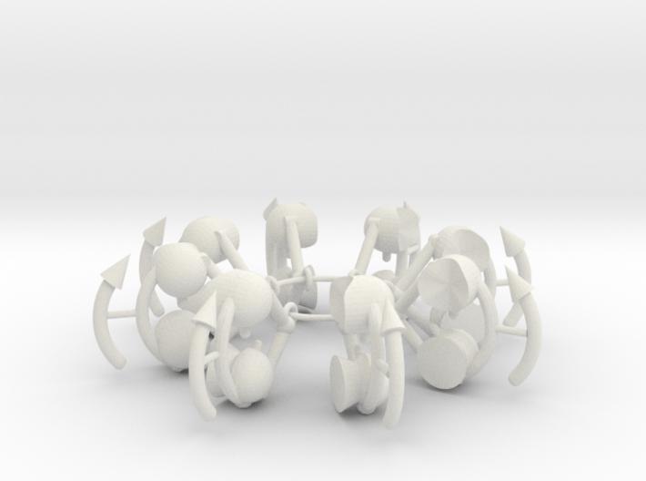 DanceRings 3d printed