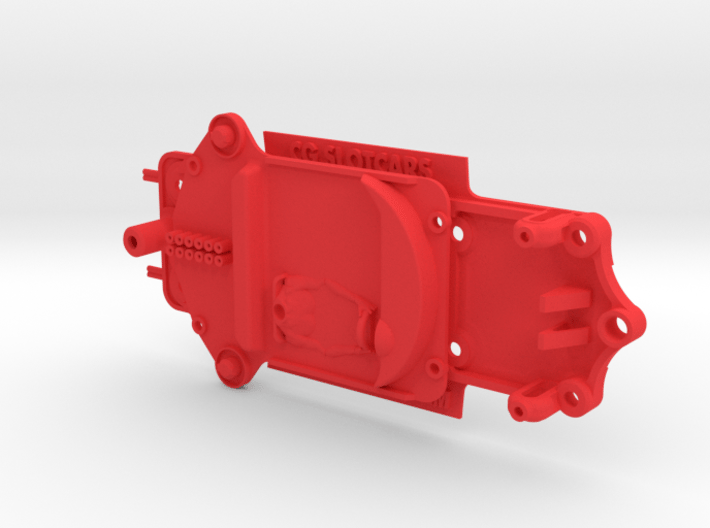Chassis & Interior Fly Ferrari 250LM inline pod 3d printed