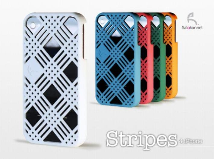 Stripes - case for iPhone 4/4s 3d printed Autumn colors gives warm touch...