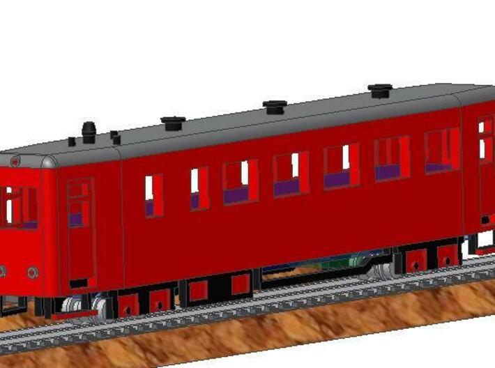 VT 137 322 after 2008 3d printed left
