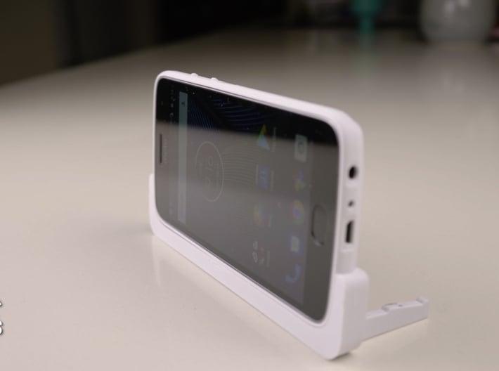 Moto G5 Plus Landscape Stand / Car Mount 3d printed
