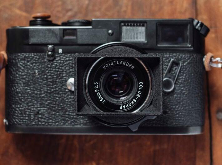 CV 35mm f2.5 II  Ultra Compact Hood 3d printed