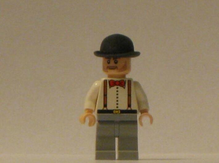 Bowler Hat 3d printed Description