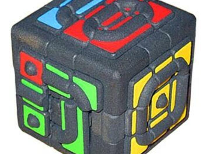 Get Stuck Cube 3d printed Sliding pieces