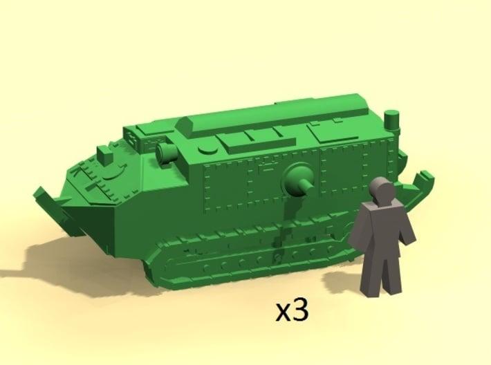 6mm Schneider CA-1 3d printed