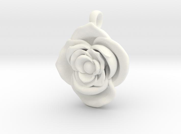 Large Rose 3d printed