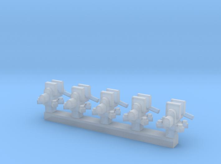Vise 5 Pack 1-87 HO Scale 3d printed