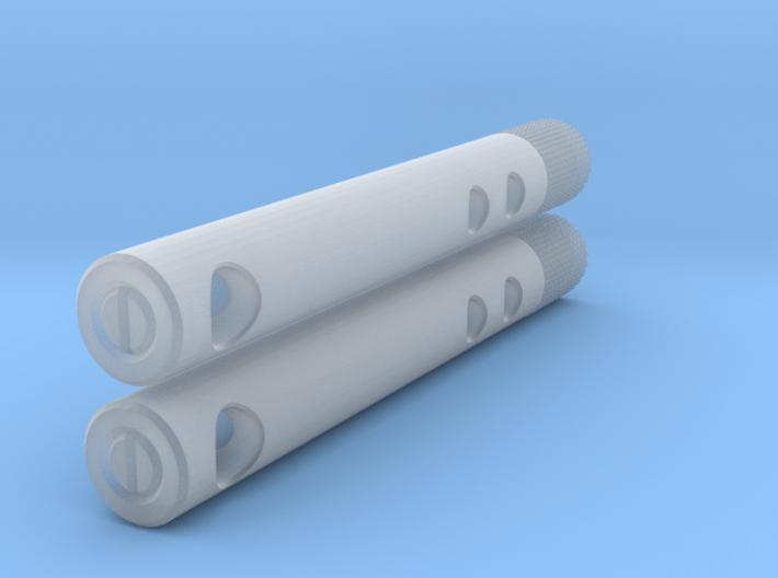 Mitchell Stylus Brush (10 mm Diameter) 3d printed