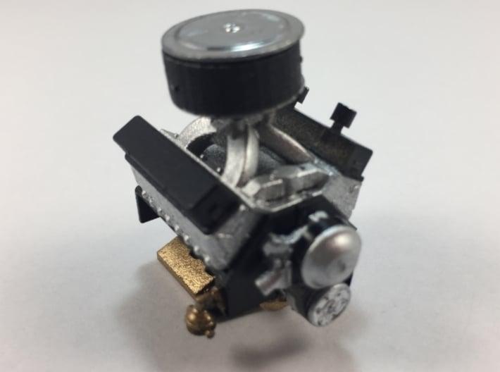 Dirt Track SBC Engine 3d printed