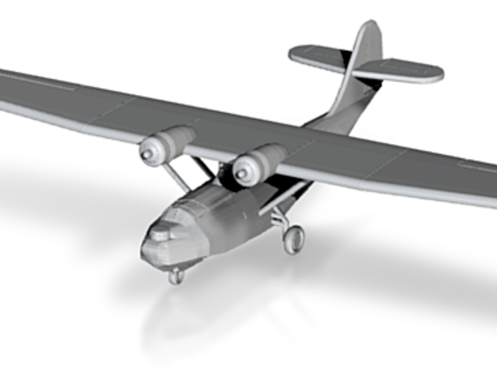 Catalina PBY-5a 1:350 Scale 3d printed