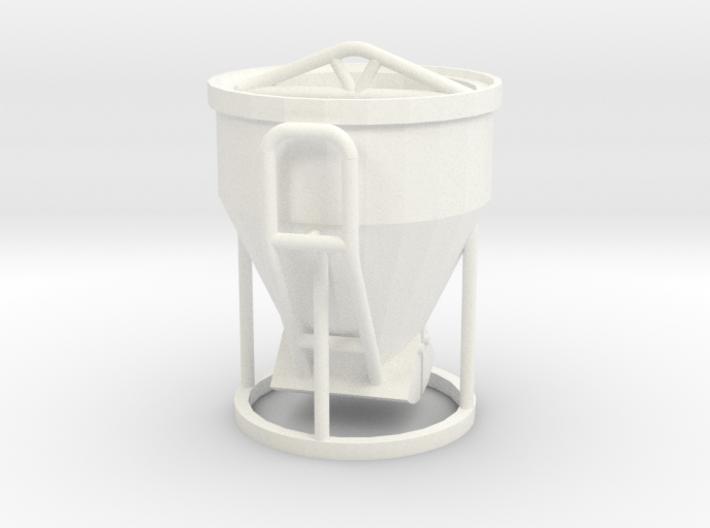 1:50 Betonkubel / Cement bucket / Cubo de cemento 3d printed