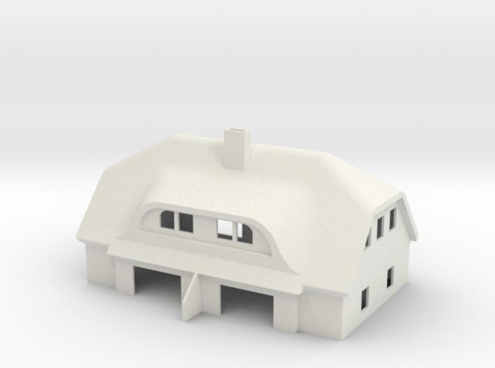 Reeddachhaus Eibe 3d printed