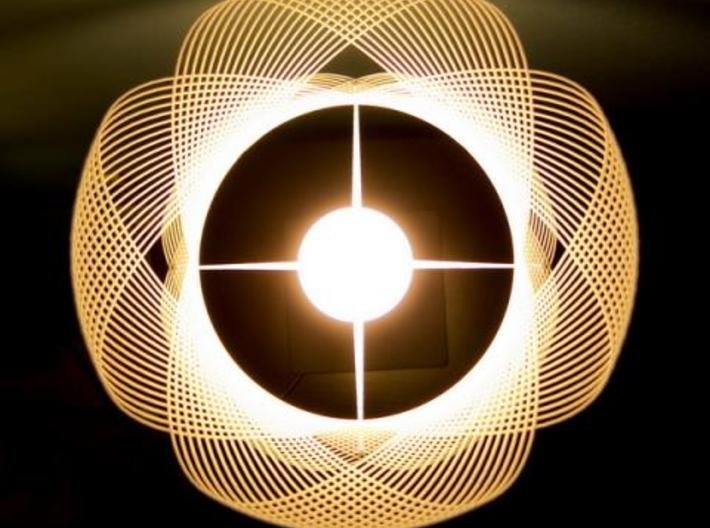 Clothoid.A Lamp 3d printed Clothoid.A Lamp