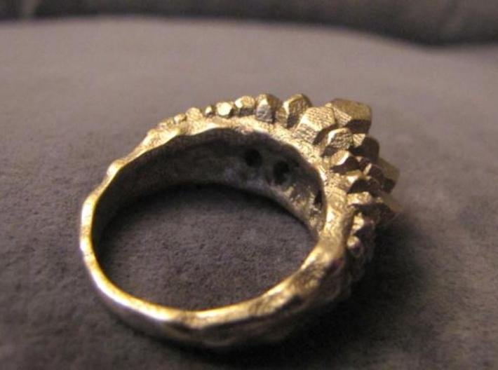 Crystal Ring Size 8 3d printed Description