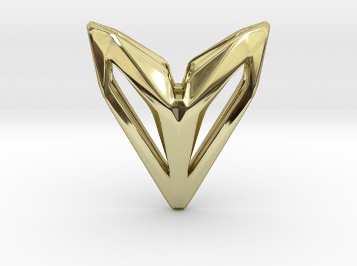 Phantom, Pendant. Space Chic 3d printed