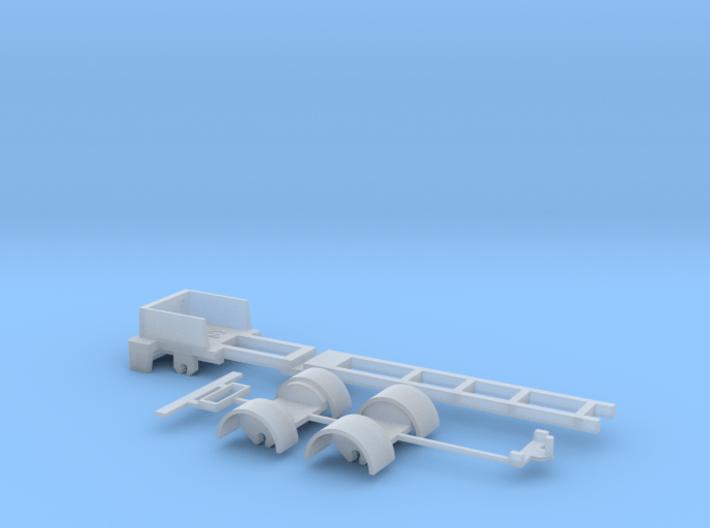 kompletter Rahmen 3ax Spur N 1:160 für Herpa Fah 3d printed