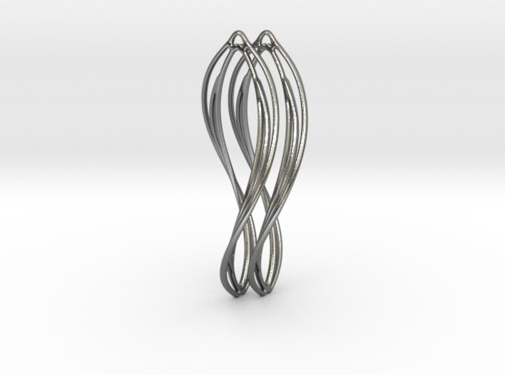 Flower 50 Twist - Pair 3d printed