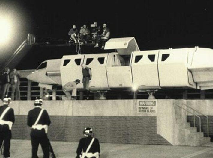 Shuttle (Squad) - Door Open (V, The Visitors) 3d printed TV Scene