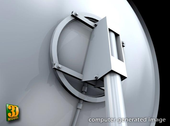 Satellite dish (30+60mm) - set 3d printed Satellite dish set (2x30mm+60mm) - 60mm - support