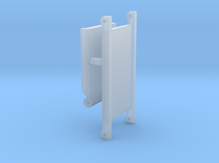 1/64 Small Square Baler Straight Chute Part #3 3d printed