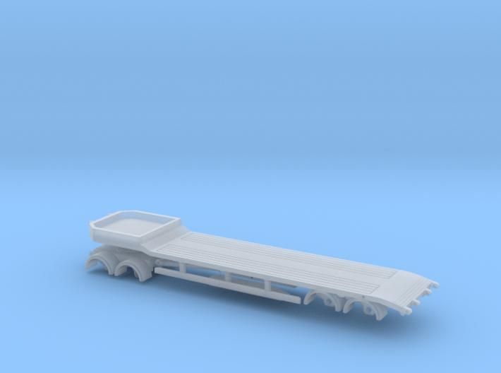4ax Tieflader Spur N 1:160 3d printed