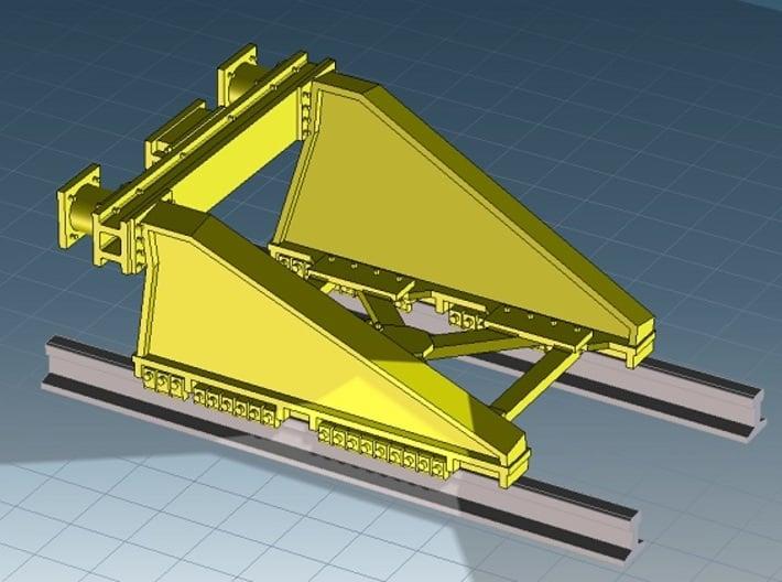 N RAWIE stootjuk (3 stuks) 3d printed Cocreate render