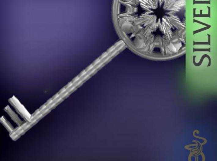 Magic key pendant 6.5cm 3d printed 5