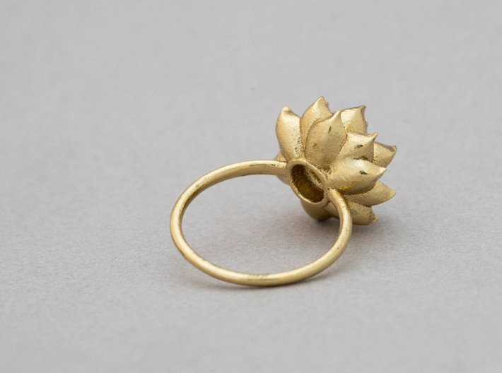 Succulent Stacking Ring No. 5 3d printed