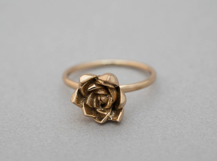 Succulent Stacking Ring No. 4 3d printed