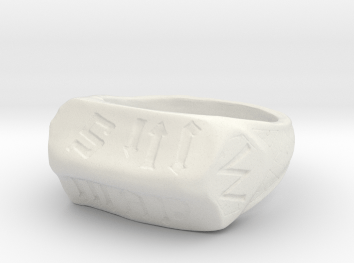 Joan of Arc First Communion Replica Ring Size 6 3d printed