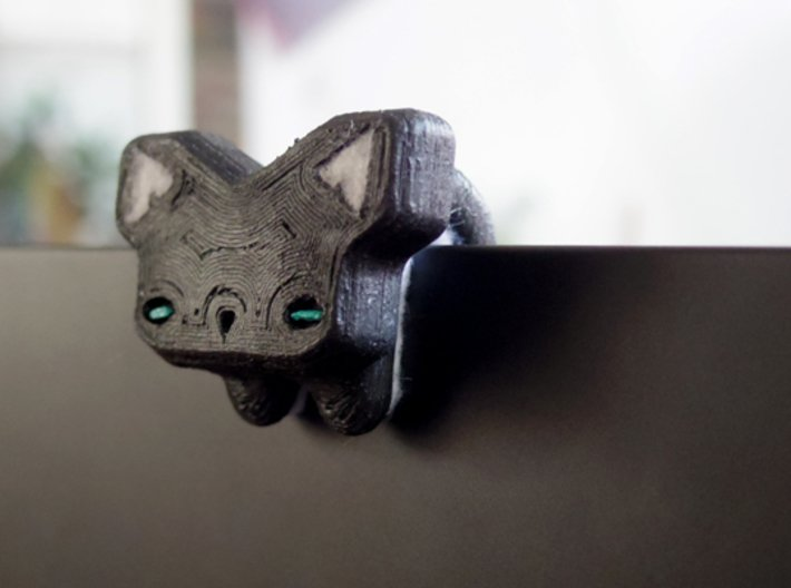Cat Bear Webcam Privacy Shade / Cover / Charm 3d printed