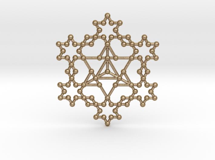 Merkaba Koch Fractal 3d printed