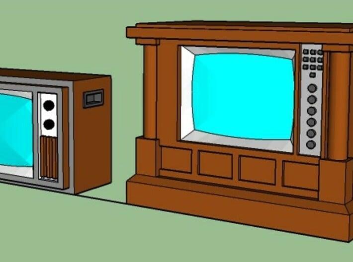 1970's TV's 3d printed