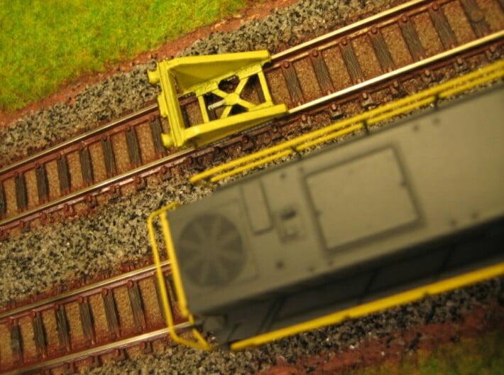 N RAWIE stootjuk (3 stuks) 3d printed Foto van een geverfd model