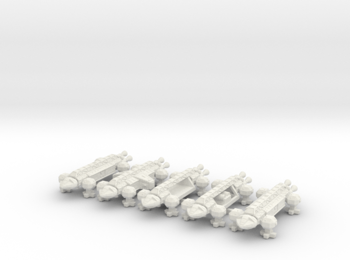 Spacer1999 Transports 1/1000 Scale 3d printed