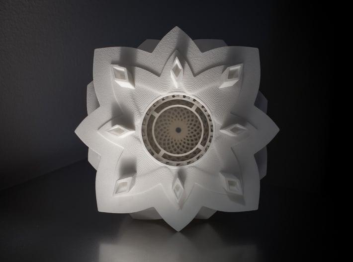 Phoenix Egg Lamp 3d printed